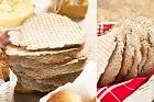 Rågknäcke av grovt rågmjöl, fänkålskryddad - recept