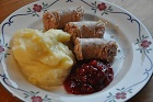 Hemlagad grynkorv och trôtebulla, klassisk västgötakorv - recept