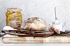 Pain au levain, franskt kalljäst surdegsbröd - recept