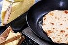 Tunnbröd bakat med bakpulver - recept