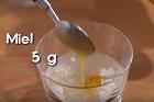 Levain naturel au miel, vetesurdegsgrund med honung - recept