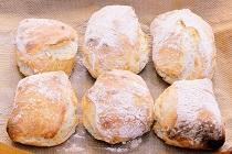 Källarfranska, kalljäst snabbt frukostbröd - recept
