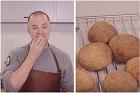 Grahamsfrallor med sirap - recept