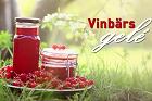 Röd, svart eller vit vinbärsgelé - recept