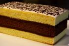 Gâteau Napolitain, sockerkakstårta med ganache - recept