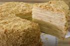 Gâteau russe Napoléon, fransk smördegstårta - recept