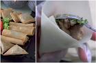Så viks dumplings och vårrullar till triangel, rulle och fyrkant - recept