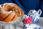 Sandkaka, sockerkaka på potatismjöl i bundtform - recept