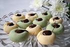 Minttoppar, kakor med mintchoklad - recept