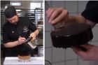 Klassisk hård chokladglasyr till tårta - recept
