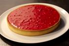 Tarte pralin lyonnaise, tårta med franska kanderade mandlar - recept