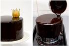 Chocolate mirror glaze, klassisk chokladglasyr - recept