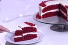Red velvet cake, röd sammetstårta - recept
