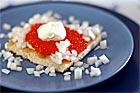 Löjromstoast / forellromstoast (förrätt) - recept