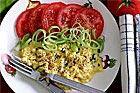 Äggröra med grönt - recept