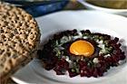 Solöga, Fågelbo - recept